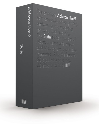 Ableton Live Suite Box