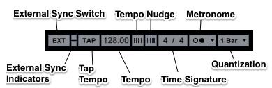 Control Bar Time