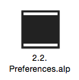 2.2. Preferences