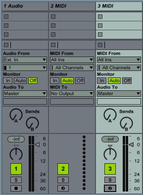 Midi , Empty Midi, Audio
