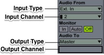 Input Type Input Channel
