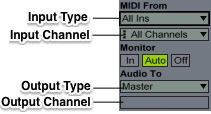 Midi Input Type