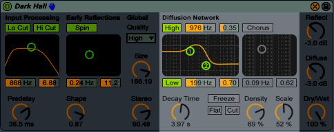 Reverb Diffusion Network