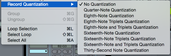 Record Quantization