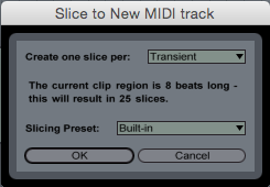 Slice To New MIDI Track
