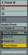 Track A Routing