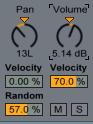 Velocity Pan Random