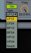 Filter Types Simpler
