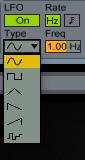 LFO Type Simpler