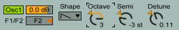 Analog Oscillator 1