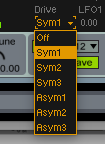 Analog Drive Symetrial and No