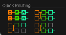 Analog Quick Routing