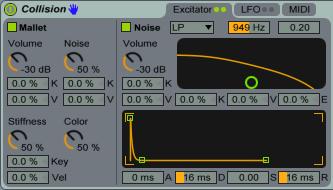 Collision Excitator