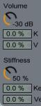 Collision Volume Stiffness