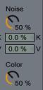 Noise Collor Collision