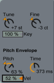 Tune Section in Collision