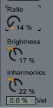Collision Ratio Brights Inharm