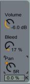 Collision Volume Bleed Pan