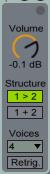 Collision Volume Structure Voices