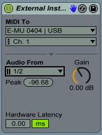 MIDI To E-Mu