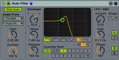 Sidechain In Progress Autofilter