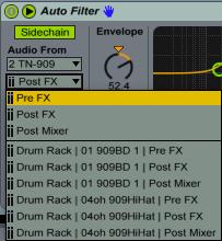 Auto Filter Pre Fx Post Fx
