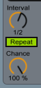 Beat Repeat Chance and Interval