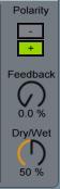 Chorus Polarity Feedback Dry/Wet