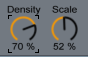 Reverb Density and Scale