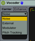 Vocoder - Choose Your Carrier