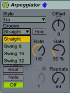 Arpeggiator Groove