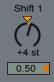 Shift 1 - 0.50 Chord