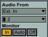 Audio From 2 Input